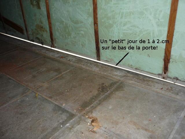 isoler une porte de garage existante do it yourself diy. Black Bedroom Furniture Sets. Home Design Ideas
