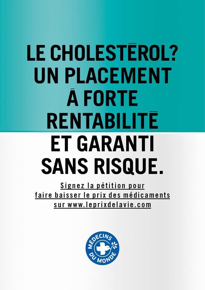 Médecins du monde Cholestérol