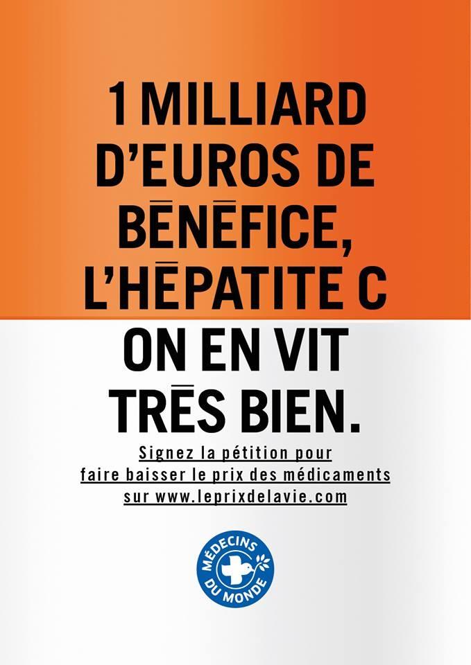 Campagne incisive de Médecins du Monde contre les laboratoires pharmaceutiques