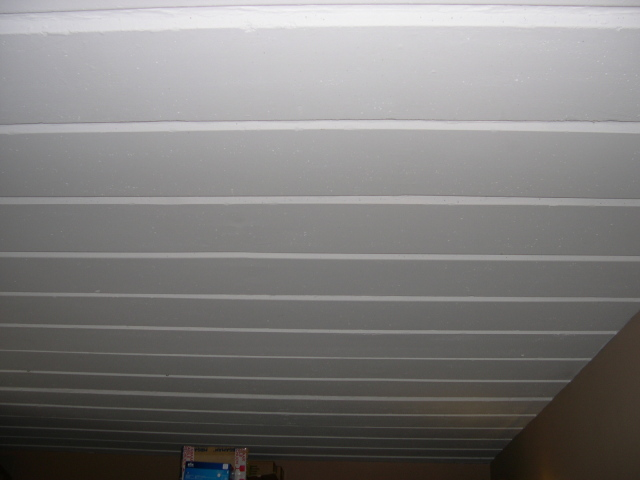 Isolation plafond en b ton entre bureau et garage forums - Isolation des plafonds sous plancher hourdis beton ...