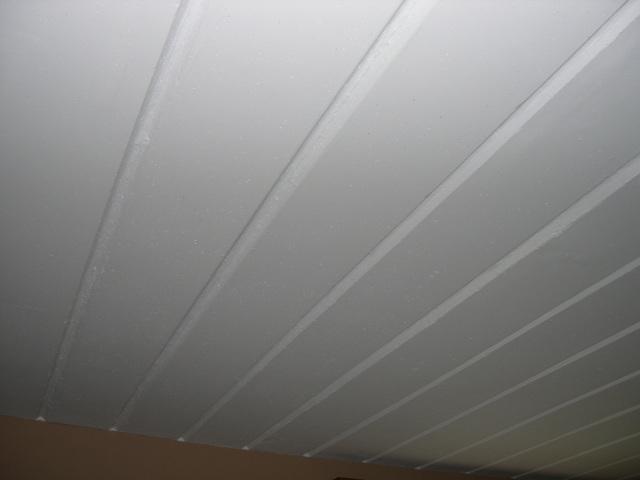 Isolation plafond en b ton entre bureau et garage for Pose isolant mince plafond garage
