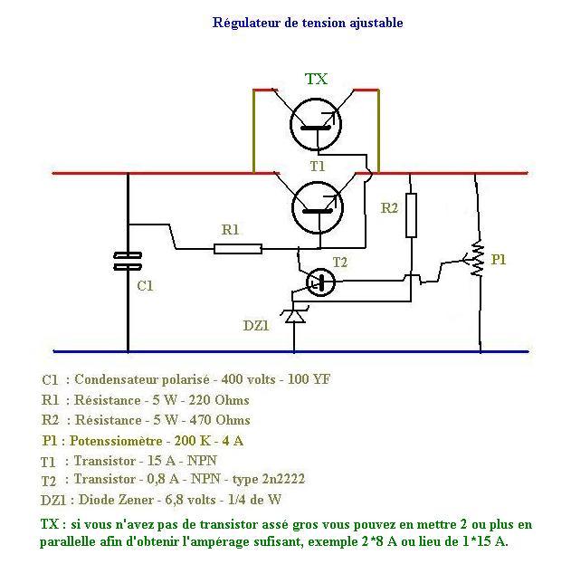 Construire Un Rgulateur De Voltage Pour olienne