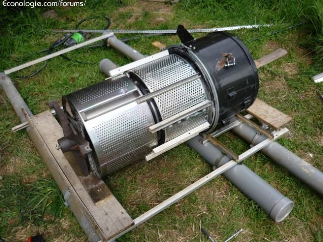 Projet mini hydro lectricit en torrent pour chalet for Moulin en bois pour jardin