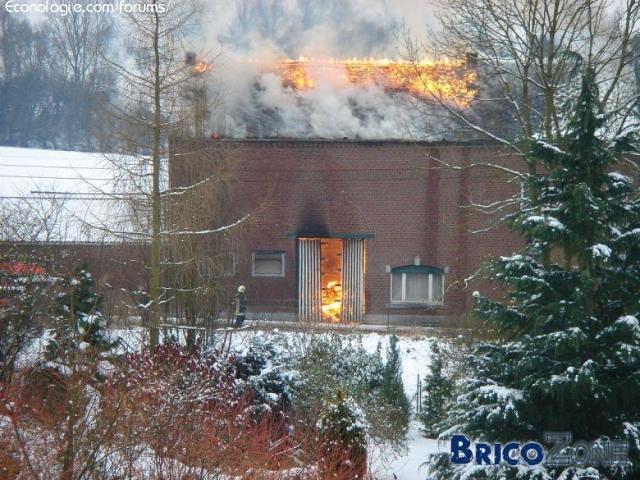 Sécurité du chauffage au bois (éviter le feu de cheminée