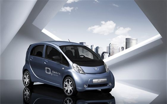 PSA Peugeot আয়ন এবং CO2