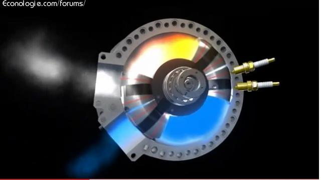 moteur rotatif torique russe