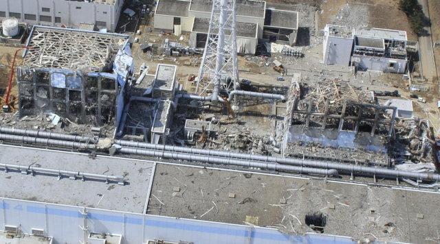 Fukushima dévastée