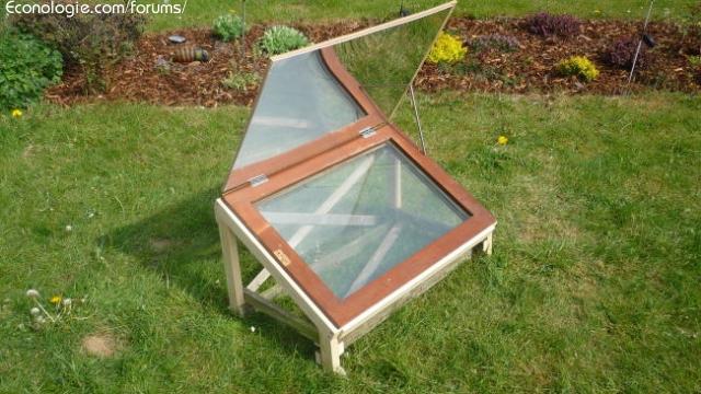 Four cuiseur solaire ulog construction et performances forums des nergies - Reflecteur solaire maison ...