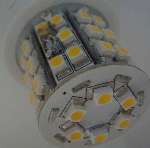ampoule led ne fonctionne plus