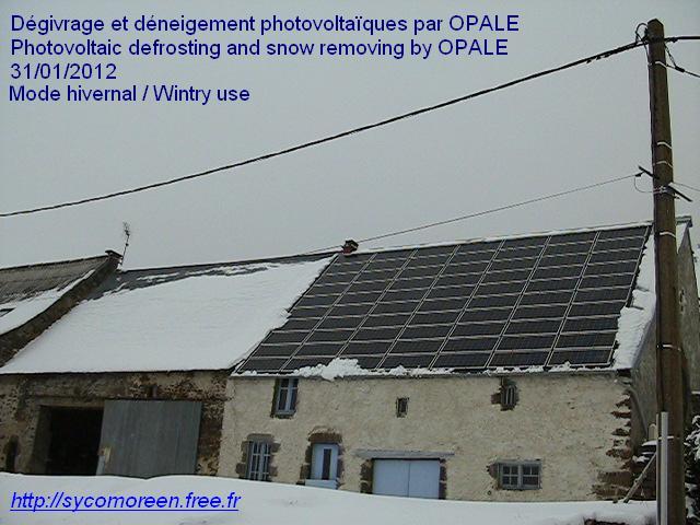 Optimisations Photovoltaïques Autonomes avec Liquides en Ecoulement (OPALE) 1327943196BEX6Be