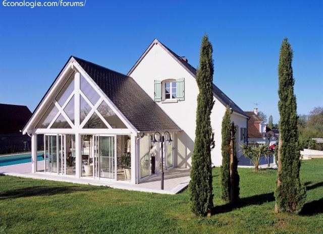 Construction d 39 une v randa ossature bois forums des for Agrandissement maison en hauteur