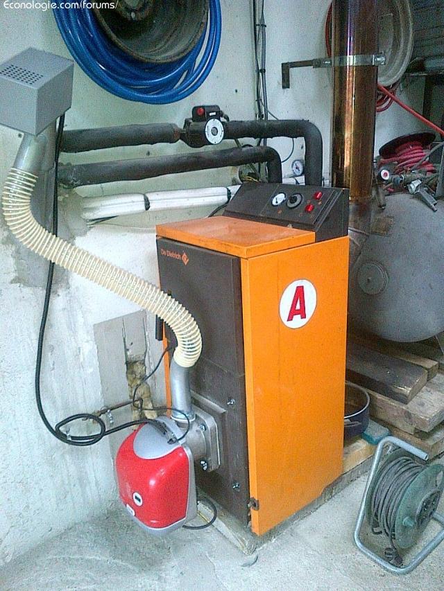 Chaudi re fioul modifi e pellets de bois kit ferroli forums des nergies - Probleme thermostat chaudiere ...