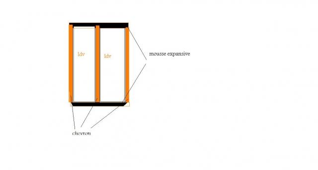 isolation des combles espace d 39 air entre laine et placo. Black Bedroom Furniture Sets. Home Design Ideas