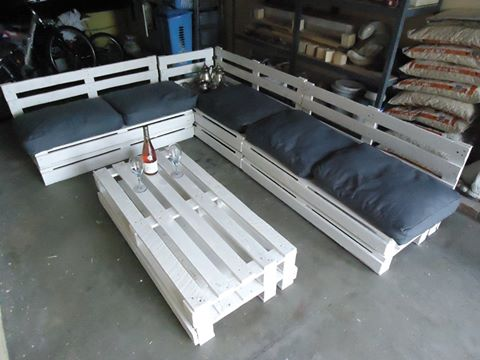 Id es co deco avec r cuperation de palettes de bois - Construction banc en palette ...