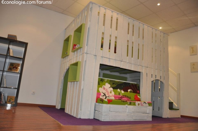 id es co deco avec r cuperation de palettes de bois. Black Bedroom Furniture Sets. Home Design Ideas