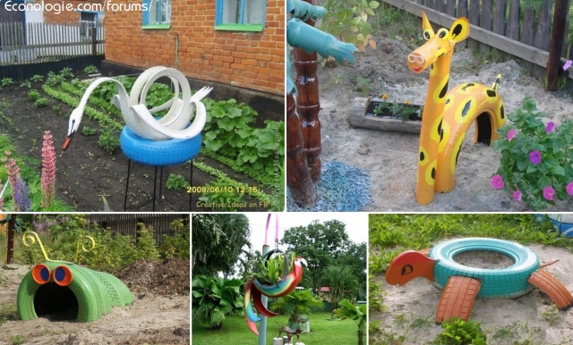 en jouets de jardin pour enfants ou décorations de jardin