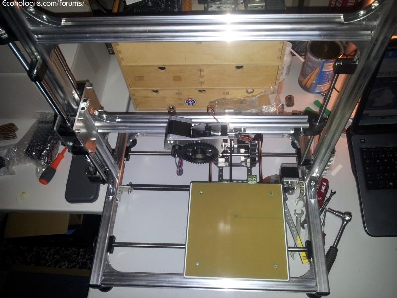 imprimante 3d k8200 montage configuration talonnage forums des nergies chauffage. Black Bedroom Furniture Sets. Home Design Ideas