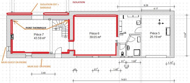 conseil isolation angle de mur en pierre. Black Bedroom Furniture Sets. Home Design Ideas