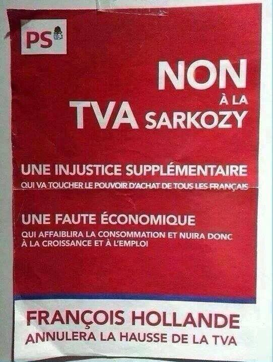 François Hollande TVA augmentation