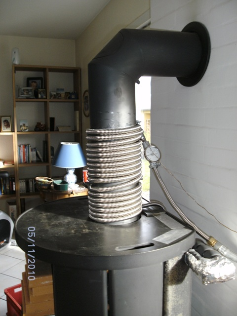 l'installation de ruban thermique sur les tuyaux