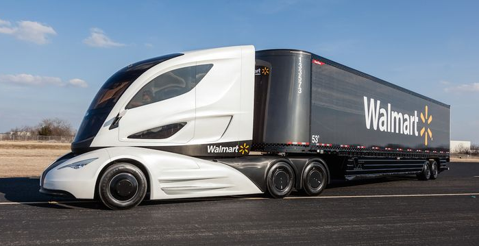Wave Rechargeable Hybrid Truck