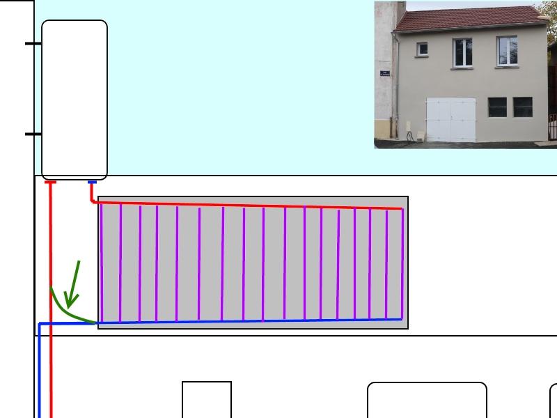 Chauffe eau solaire maison chauffeeau solaire panneau for Chauffage piscine solaire fait maison