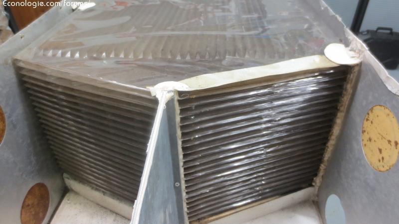vmc: fabrication récupérateur de chaleur double flux - page 24 ... - Fabriquer Une Vmc Double Flux Fait Maison