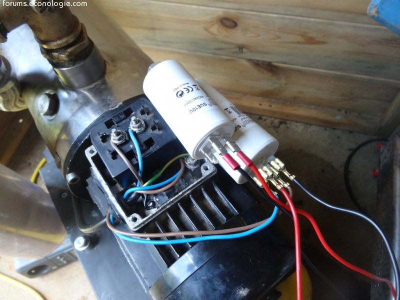 Calcul condensateur fonctionnement moteur pompe guinard elem page 2 forum - Fonctionnement d un condensateur ...