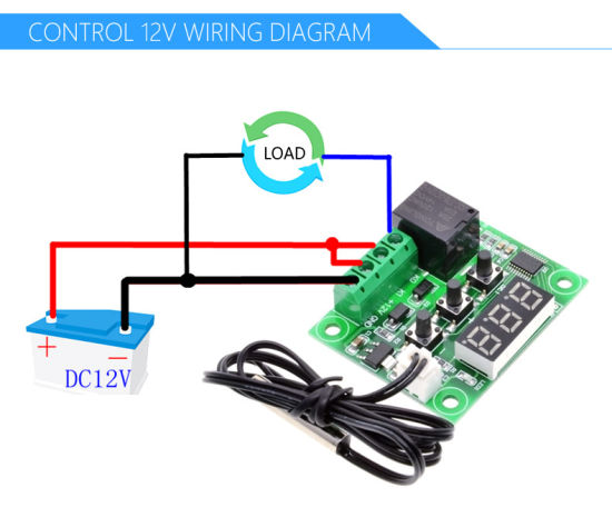 W1209-LED-الرقمية ترموستات-درجة الحرارة تحكم عالي الدقة، ميزان الحرارة، الحرارية المراقب المالي، تحويل وحدة-DC-12V.jpg