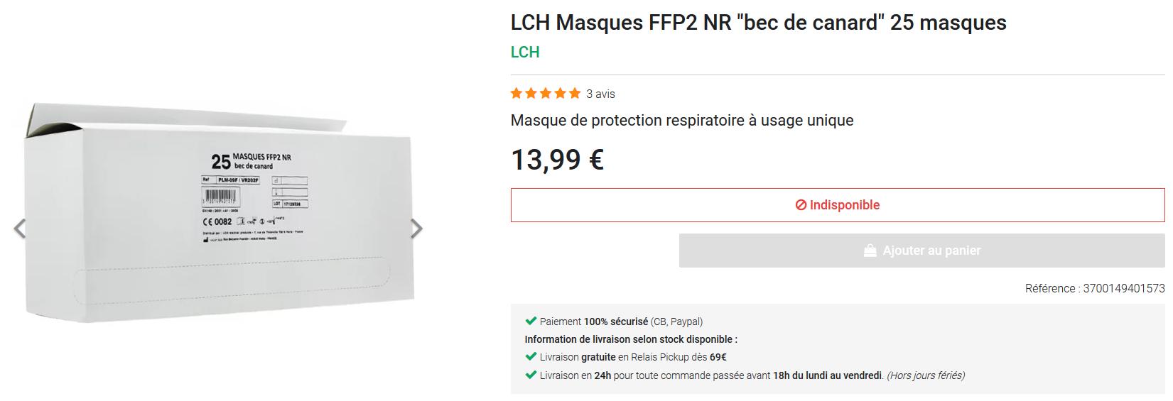 Screenshot_2020-03-14 LCH FFP2 NR أقنعة بط منقار البط 25 Pharma GDD masks.png