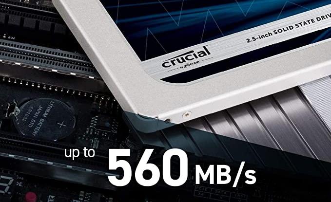 عکس صفحه 2021-06-07 در 14-46-54 Crucial 1TB CT1000MX500SSD1 (Z) MX500 SSD داخلی تا 560 مگابایت (3D NAND ، SATA ، 2,5 اینچ [...]. Png