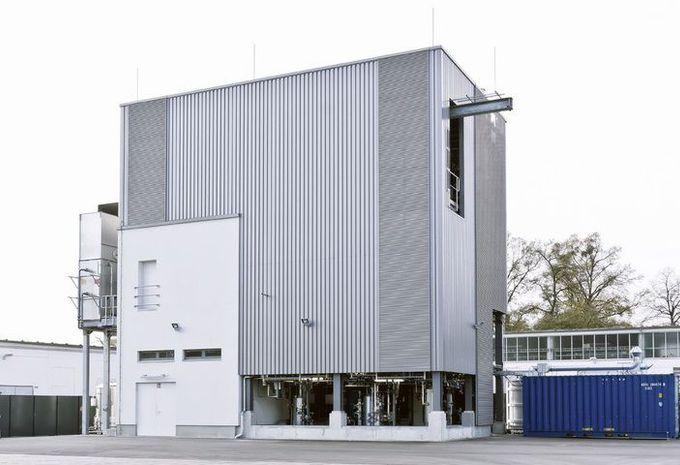 ऑडी कारखाने में biocarburant.jpg