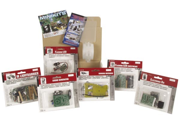 Lot de 6 mini-kits pour initiation � la soudure