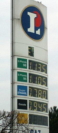Pompe E85 d'Angoulème