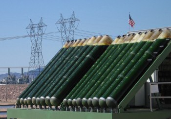 panneau solaire de production d'huile carburant à base d'algues