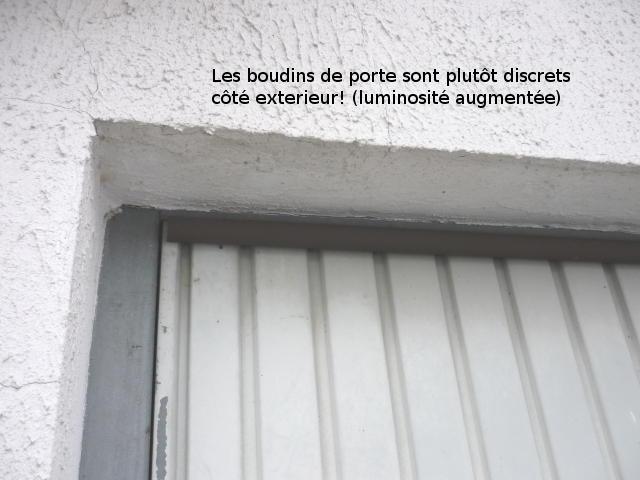 Ponts thermiques au garage optimisation d 39 une porte et murs for Porte de garage isolation thermique