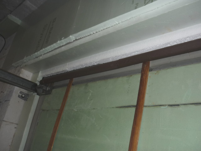 isolation porte de garage