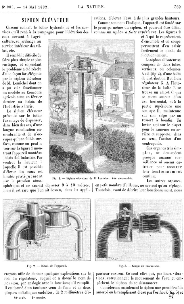 Siphon Riviere