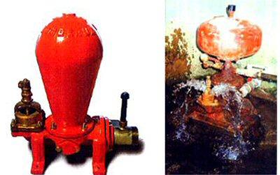 photo de bélier hydraulique