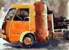 camion gazogène