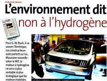 comparatif hydrogene essence diesel