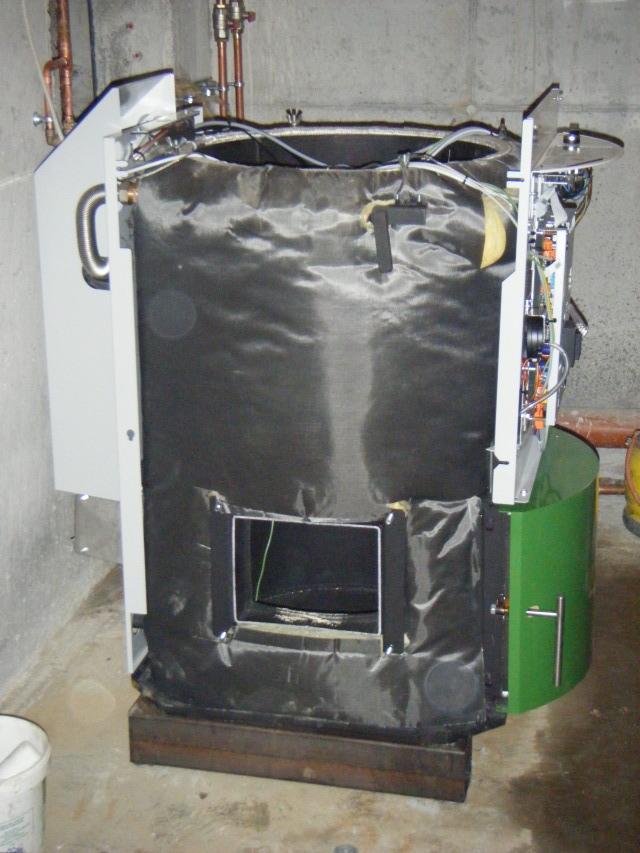 Photos chaudi re pellets kofen installation et for Chaudiere bois et pellet