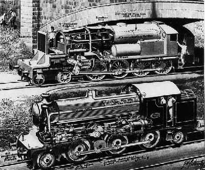 Locomotive hybride Diesel Vapeur, la Kitson Still - Les ...
