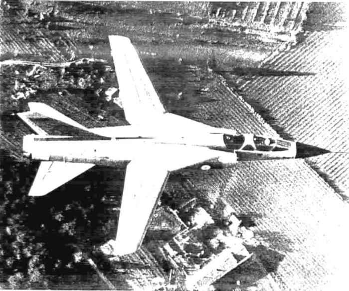 Mirage G à basse vitesse