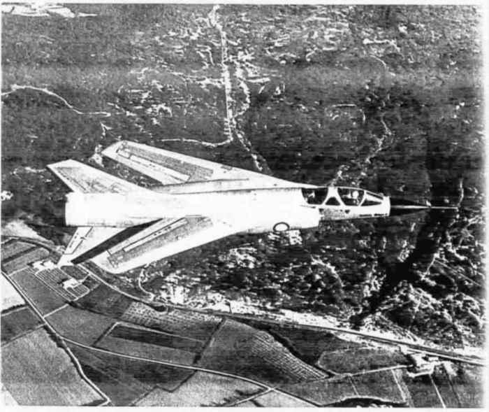 Mirage G à haute vitesse