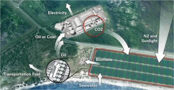 centrale électrique à micro algues biocarburant