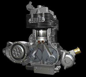 موتور دیزل موتور سیکلت neanders
