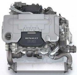 Renault dci V6 à eau