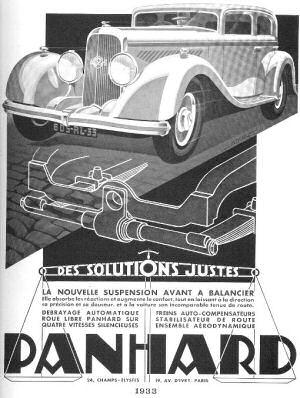 выбеге Panhard