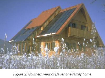 maison solaire et bois